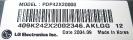 PDP42X20000  P/N  3315Q-H001A  K42048014988_1